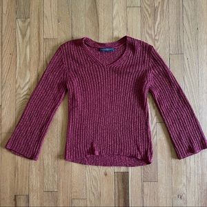 Peruvian Connection Ribbed Sweater